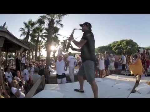Jimmy Sax - Live at Nikki beach St Tropez...