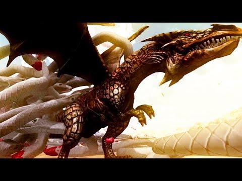 NEW DRAGON vs FLYING SNAKES! - Beast Battle Simulator Gameplay | Pungence