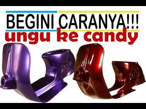 Warna Cat Biru Candy Tone