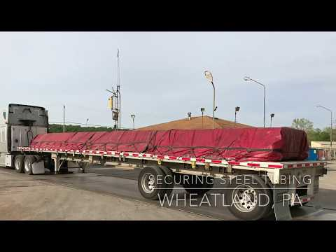 Flatbed Securement Steel Tubing And Tarping