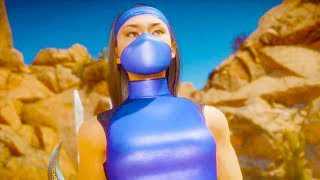 Mortal Kombat 11 PC - Kitana Klassic Skin Performs Intro Dialogues Vs All MK11 Characters