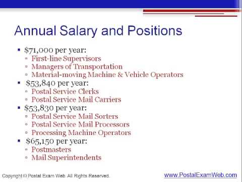 USPS Employee Salaries