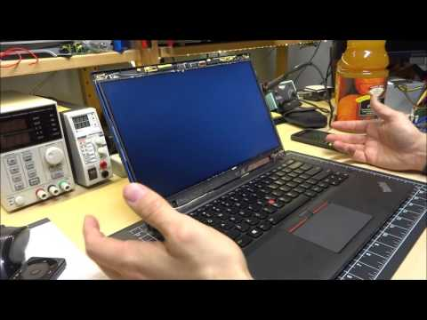 Thinkpad T450s LCD Panel Upgrade (and problems)