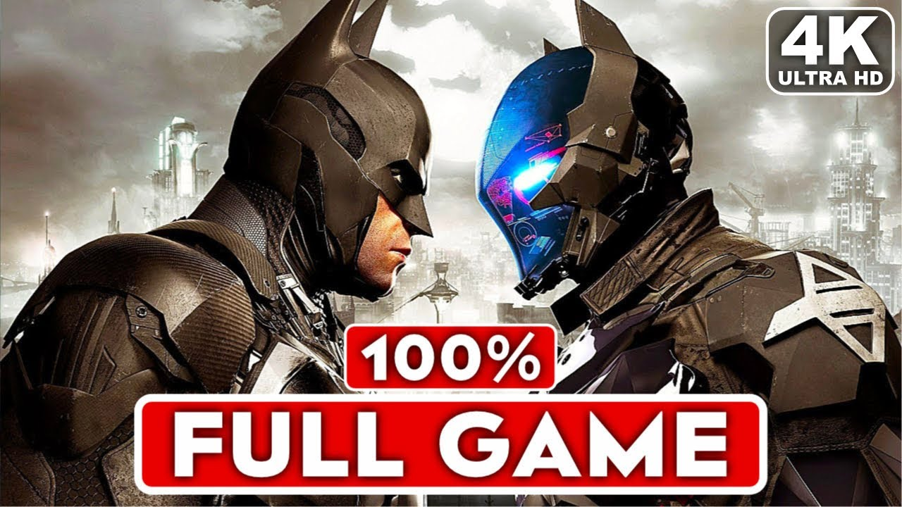 Batman Arkham Knight - All Bosses + DLC's & Ending (PS4,XONE,PC)