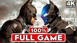 BATMAN ARKHAM KNIGHT Gameplay Walkthrough Part 1 FULL GAME [4K 60FPS PC] - No Commentary