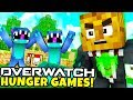 TEWTIY IS BAD AT MINECRAFT OVERWATCH MODDED HUNGER GAMES - MINECRAFT MOD CHALLENGE