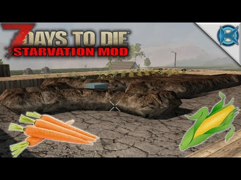 7 Days to Die Modded | Farm & Rain Storage | SP Let's Play Gameplay | A15 S01E12