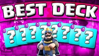 BEST DECK IN THE GAME  ::  Clash Royale  ::  DECK USED BY THE BEST PLAYER!