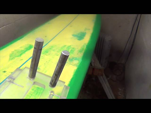 Mr. Mike Surboards: Part 18, Board painting