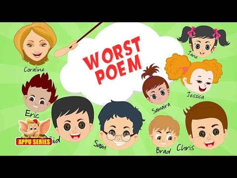 Funny Classroom Joke - Worst Poem