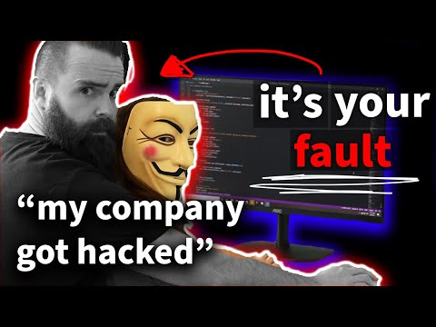 how HACKERS take down big companies (it's your code)