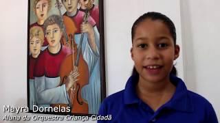 Agradecimento à Caixa Econômica Federal, apresentando: Mayra Dornelas
