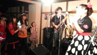 2013.8.23 @大橋Maーya 1)キッスは目にして.