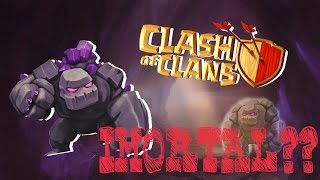GOLEM FICOU IMORTAL NA GUERRA? - Clash of clans