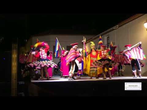 Actuación de Qhaswa Perú en Zalamea la Real