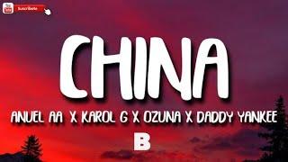 98 BPM - Anuel AA, Daddy Yankee, Karol G, Ozuna & J Balvin - China