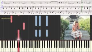 Крылатые качели - Ев. Крылатов (Ноты и Видеоурок для фортепиано)(лёгкий вариант) (piano cover)