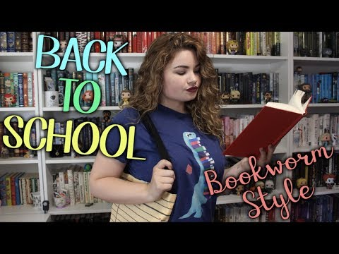 BACK TO SCHOOL: BOOKWORM STYLE