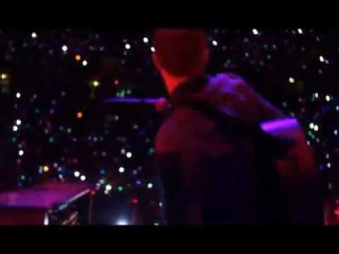Coldplay - Mylo Xyloto Intro + Hurts Like Heaven (San Jose, 04.27.2012) HD 3D Live tour