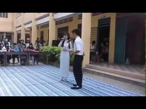 học sinh thpt song ca hát cực hay 2015