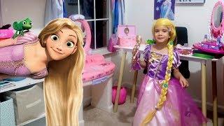 Disney Princess Rapunzel MakeUp and new Toys