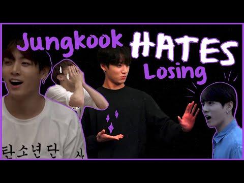 JUNGKOOK HATES LOSING