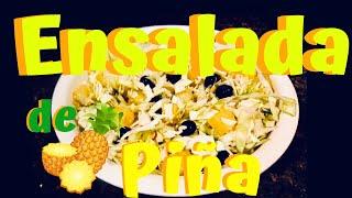 col - ensalada - piña - ensalada de col - Cole Slaw - elmundodelynda