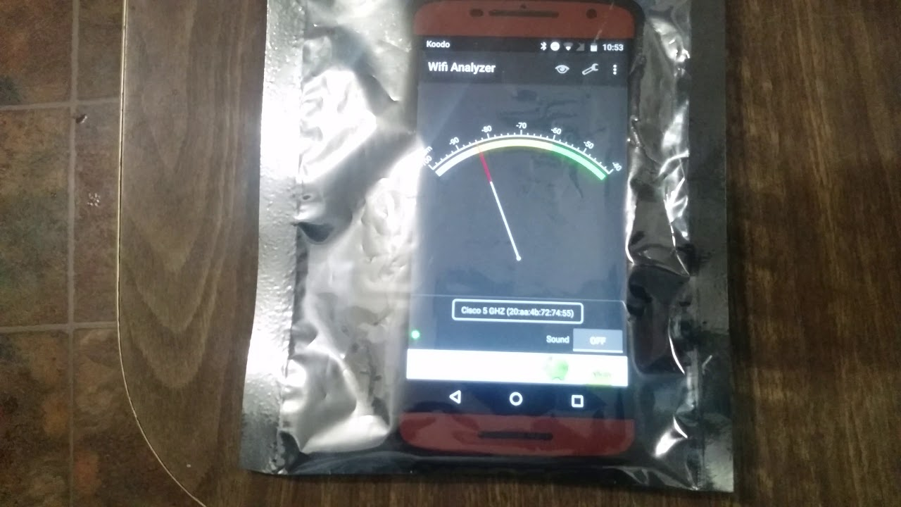 Anti Static Bag As A Faraday Cage Test
