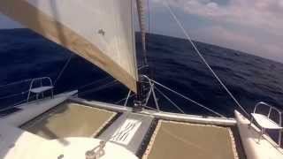 Atlantic Ocean Passage Aboard Sailing Catamaran Zuri