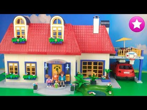 Playmobil nueva casa diy te ense o como hacer tu propia for Casa de juguete para jardin