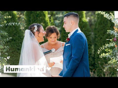 Breast cancer survivor gets wedding of her dreams | Humankind