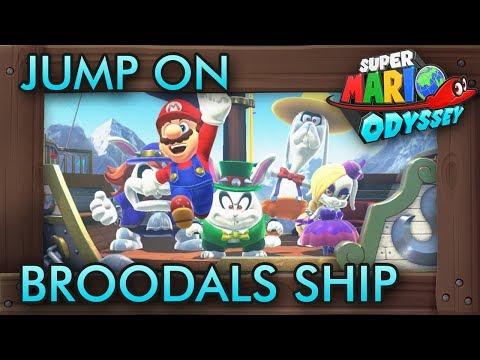 What Happens When You Jump on Broodals Airship in Super Mario Odyssey?