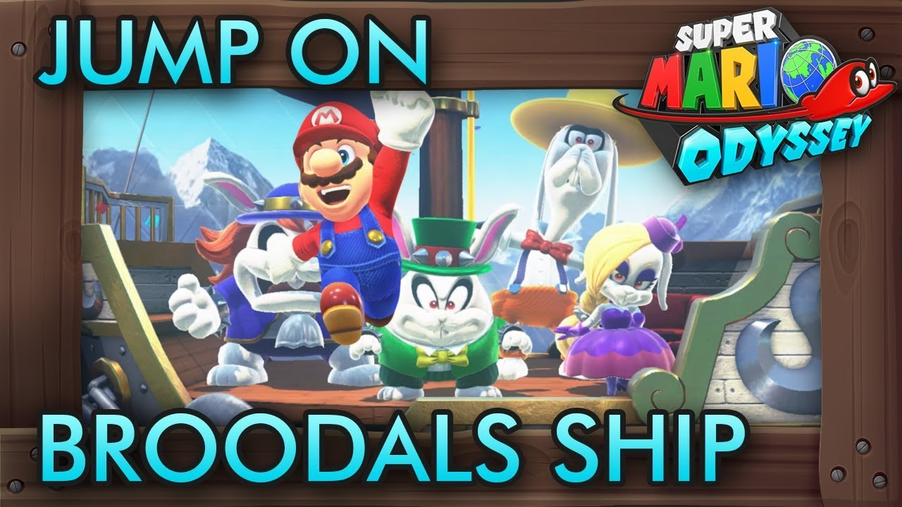 What Happens When You Jump On Broodals Airship In Super Mario