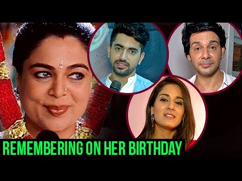Neil, Avni, Aashish Remember REEMA LAGOO On Her BIRTHDAY - Exclusive Interview | Naamkaran