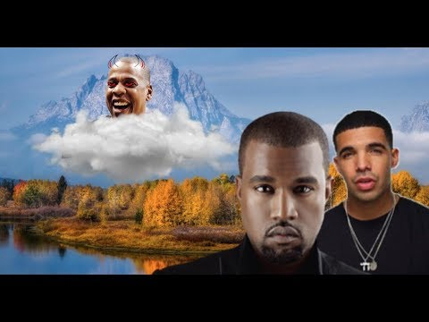 Drake and Kanye West Meet in Wyoming To Allegedly COLLABORATE AGAINST Common Rival Jay-Z