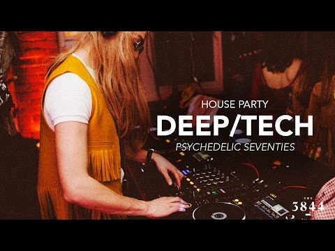Deep Tech House Live DJ Mix - Psychedelic 70s House Party - Part 1 (WITH TRACKLIST)