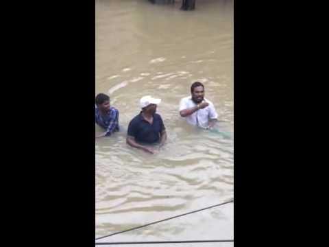 Chennai Floods in Ashok Nagar