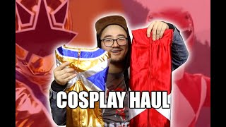 POWER RANGERS COSPLAY Try On and Unboxing