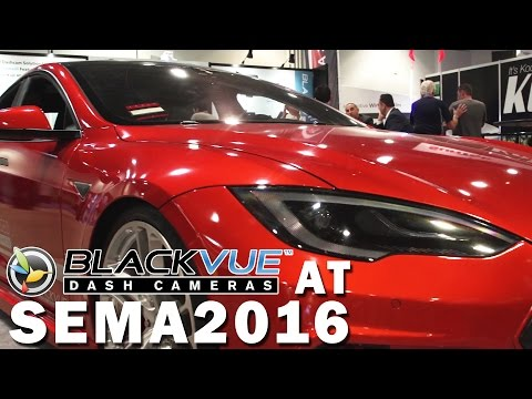 BlackVue at SEMA 2016