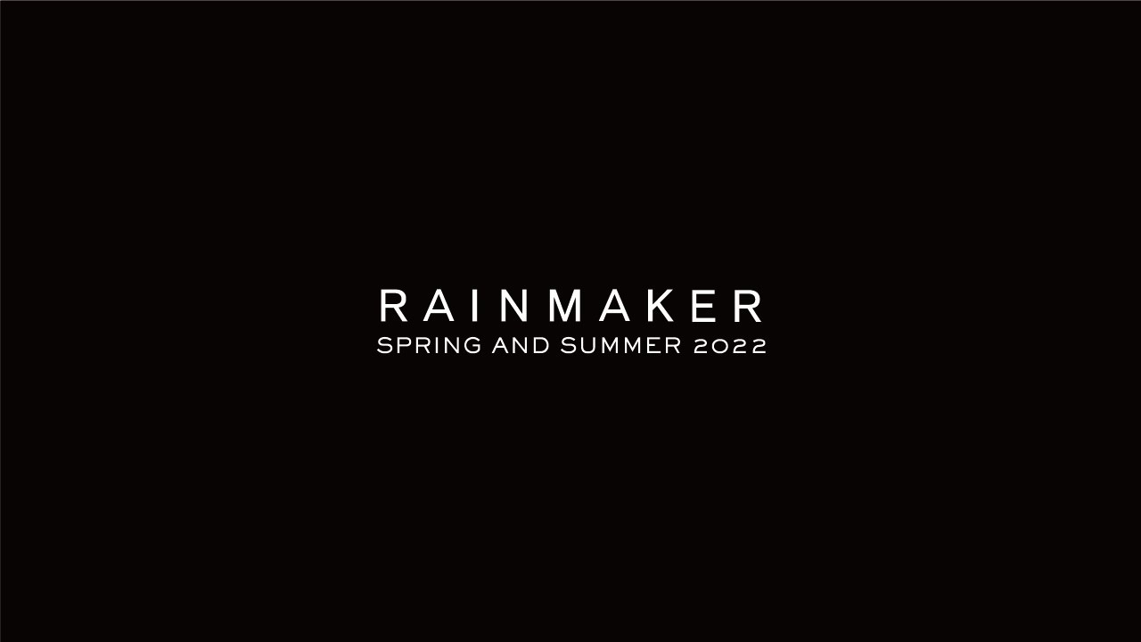 Download RAINMAKER 2022 S/S Collection   Rakuten Fashion Week TOKYO 2022 S/S