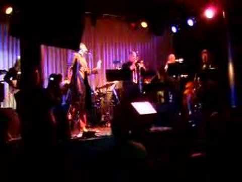 Simone (Nina Simone's daughter) performing in NY