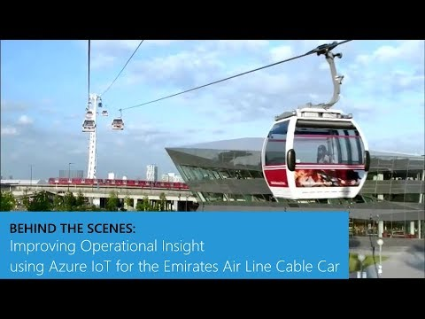 Improving Operational Insight using Azure IoT for the Emirates Air Line Cable Car