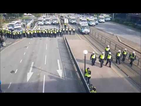 Demonstration Göteborg 30 september 2017