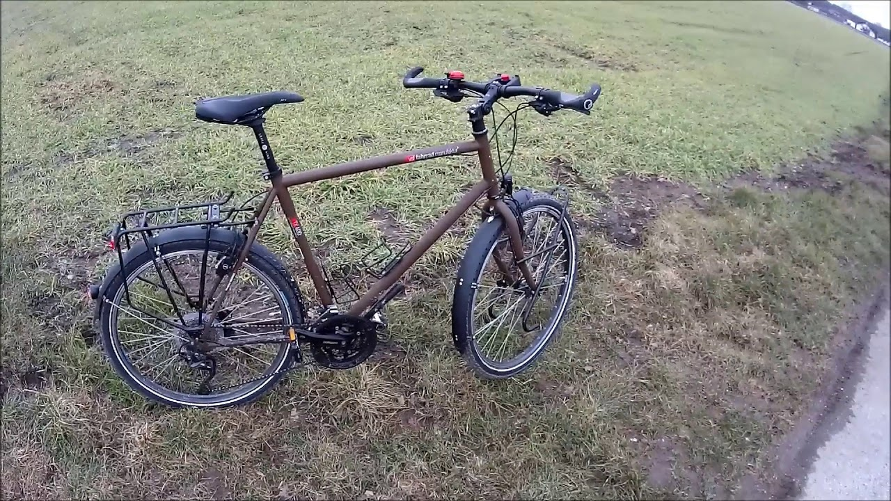 mein reiserad vsf fahrradmanufaktur tx 400 youtube