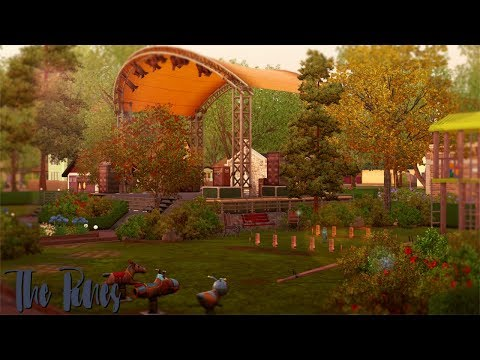 The Sims 3 | Speed Build | The Pines: Festival Grounds