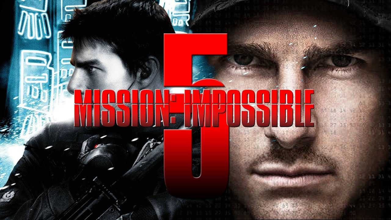 Mission Impossible 2015 Poster