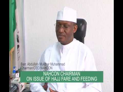NATIONAL HAJJ COMMISSION OF NIGERIA (NAHCON) CHAIRMAN BARR  ABDULLAHI  MUKHTAR ON ISSUE OF HAJJ FARE