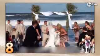 Свадебные курьезы. Смешные видео.