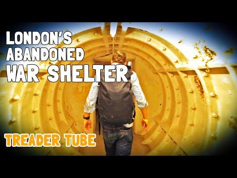 Secret Underground War Shelter in London | Treader Tube