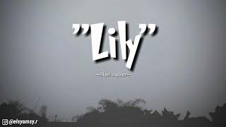 Alan Walker Lily Lyrics..